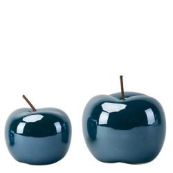 Jabłko ceramiczne granatowe...