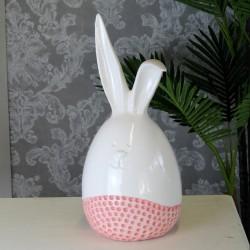 Figurka zając ceramiczny...