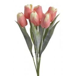 Sztuczny bukiet tulipanów...