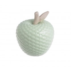 Jabłko ceramiczne zielone z...