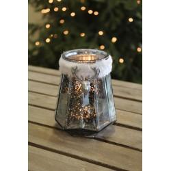 Dekoracja lampion szklany w...
