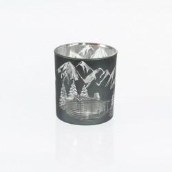 Dekoracja lampion szklany z...