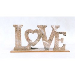 Napis dekoracyjny LOVE...