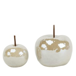 Jabłko ceramiczne cream