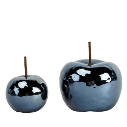 Jabłko ceramiczne czarne/...
