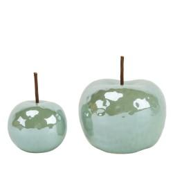 Jabłko ceramiczne zielone