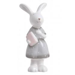Figurka ceramiczna zajączek...