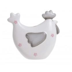 Figurka ceramiczna kura...