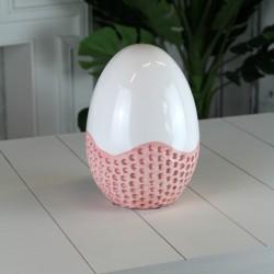 Figurka jajko ceramiczne...