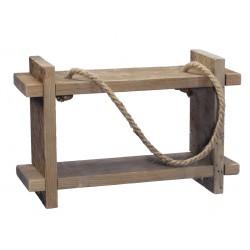 Dekoracja półka drewniana...