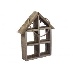 Dekoracja domek drewniany...