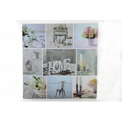 Obraz HOME LED 50x50 cm