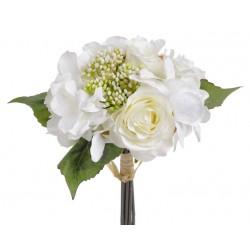 Bukiet róż z hortensją x9...
