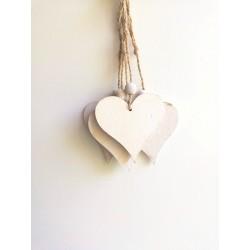 Dekoracja zawieszka serca...