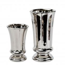 Wazon ceramiczny srebrny...