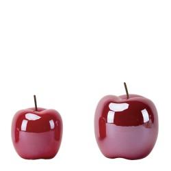 Jabłko ceramiczne czerwone...