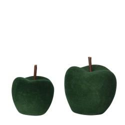 Jabłko ceramiczne flokowane...