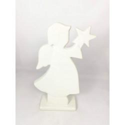 Dekoracja  anioł z gwiazdką...